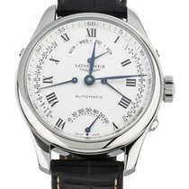 Longines Master Collection Steel 41mm Silver United States of America, Illinois, BUFFALO GROVE
