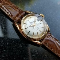 Tudor Yellow gold Automatic 25mm pre-owned Prince Oysterdate