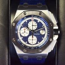 Audemars Piguet pre-owned Automatic 44mm Blue Sapphire crystal