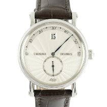 Chronoswiss Steel Automatic Silver 38mm pre-owned Delphis