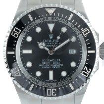 Rolex Sea-Dweller Deepsea usados 43mm Negro Fecha Acero