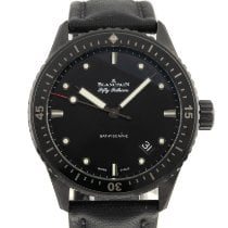 Blancpain Fifty Fathoms Bathyscaphe Ceramic 43mm Black
