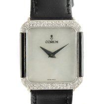 Corum White gold Manual winding Mother of pearl 28.5mm pre-owned
