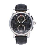 Montblanc Star 4810 Steel 44mm Black Roman numerals