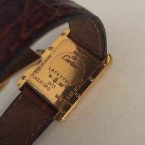 Cartier Quarz 22mm gebraucht Tank Vermeil
