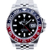 Rolex 126710BLRO Steel 2021 GMT-Master II 40mm new