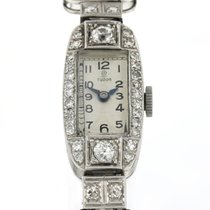 Tudor White gold Manual winding 24mm pre-owned