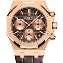 Audemars Piguet Royal Oak Chronograph nowość 2021 Automatyczny Zegarek z oryginalnym pudełkiem i oryginalnymi dokumentami 26239OR.OO.D821CR.01