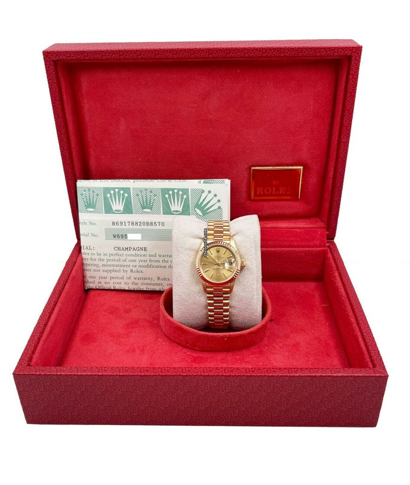 Rolex Lady-Datejust 1997 pre-owned