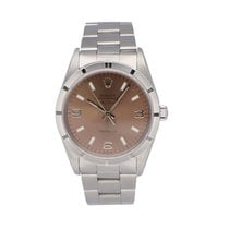 Rolex Air King Precision Staal 34mm Roze Geen cijfers Nederland, Amsterdam