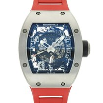 Richard Mille Titanium 39mm Automatic RM010 AG T pre-owned
