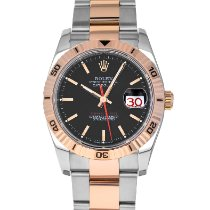 Rolex Datejust Turn-O-Graph Gold/Steel 36mm Black No numerals United States of America, Maryland, Baltimore, MD