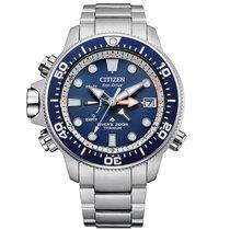 Citizen Promaster Marine new 2021 Quartz Watch with original box and original papers BN2041-81L Citizen Promaster Diver Eco Drive 46mm Blu Ghiera Girevole Cassa e Bracciale Titanio