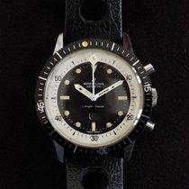 Breitling Superocean occasion 42mm Noir Chronographe Caoutchouc