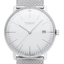 Junghans 027/4002.46 Steel 2021 max bill Automatic 38mm new