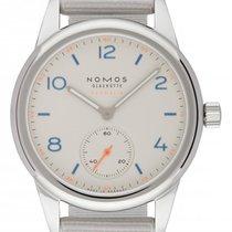 NOMOS Club Neomatik Stal 37mm Biały