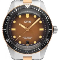 Oris Bronze Automatic Brown 40mm new Divers Sixty Five