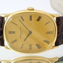 Patek Philippe Golden Ellipse Gulguld 29mm Guld Romerska