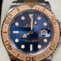 Rolex Yacht-Master 40 Gold/Steel 40mm Blue No numerals United States of America, Maryland, Gaithersburg