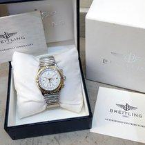 Breitling použité Automatika 40mm Bílá Safírové sklo Nejsou vodotěsné