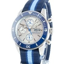 Breitling Superocean Heritage Chronograph A133131A1G1W1 Nieuw Staal 44mm Automatisch