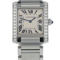 Cartier Tank Française new 2021 Quartz Watch with original box and original papers W4TA0009