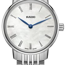 Rado Coupole Staal 27mm Zilver