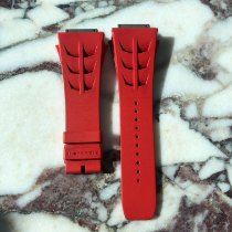 Richard Mille Parts/Accessories Men's watch/Unisex pre-owned Rubber Red RM 011