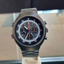 Omega gebraucht Handaufzug 43mm Grau Mineralglas