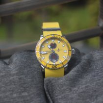 Ulysse Nardin Maxi Marine Diver Stahl Gelb
