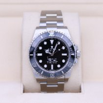 Rolex Submariner (No Date) pre-owned 41mm Black Steel