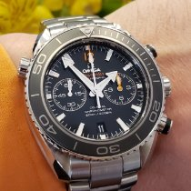 Omega Seamaster Planet Ocean Chronograph Steel 45.5mm Black No numerals United States of America, Illinois