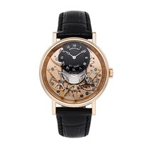 Breguet Tradition pre-owned 40mm Crocodile skin