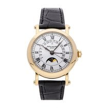 Patek Philippe Yellow gold Automatic White Roman numerals 36mm pre-owned Perpetual Calendar