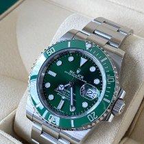 Rolex Submariner Date Steel 40mm Green No numerals Australia, 6005
