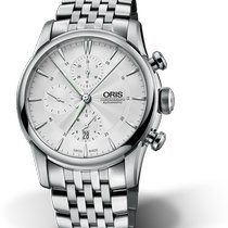 Oris Artelier Chronograph new Automatic Watch with original box and original papers 01 774 7686 4051-07 8 2377