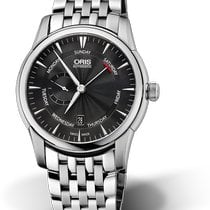 Oris Artelier Small Second Steel 44mm Black
