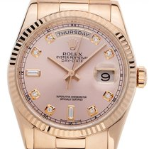 Rolex Day-Date 36 118235 Very good Rose gold 36mm Automatic