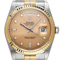 Rolex Day-Date 36 Vitguld 36mm