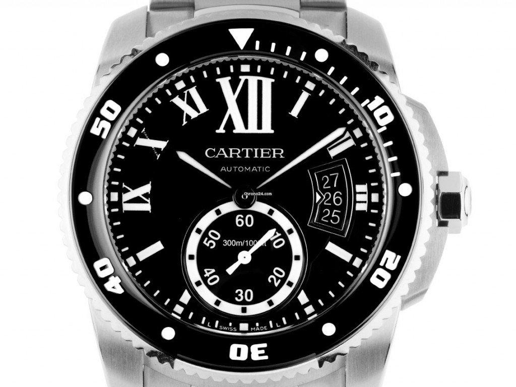 Cartier Calibre de Cartier Diver W7100056 2019 pre-owned