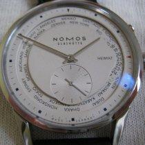 NOMOS Zürich Weltzeit Steel 39,7mm White No numerals