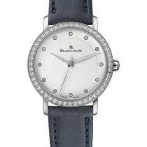 Blancpain Villeret Ultraflach neu Automatik Uhr mit Original-Box und Original-Papieren 6102-4628-95A