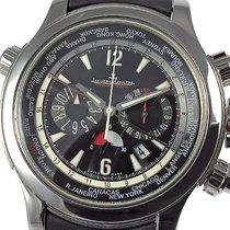 Jaeger-LeCoultre Master Compressor Extreme World Chronograph Сталь 46mm Черный Aрабские