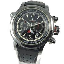 Jaeger-LeCoultre Master Compressor Extreme World Chronograph Acero 46mm Negro Arábigos