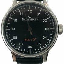 Meistersinger Steel 43mm Manual winding 1Z AM.602 pre-owned