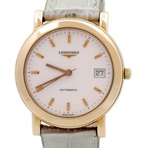 Longines L 1101.32 Very good Rose gold 37mm Automatic