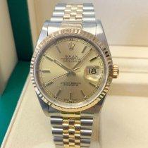 Rolex 16233 Золото/Cталь 2000 Datejust 36mm подержанные