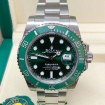 Rolex Submariner Date Steel 40mm Green No numerals United Kingdom, Wilmslow