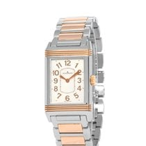 Jaeger-LeCoultre Grande Reverso Lady Ultra Thin Gold/Stahl 24mm Silber Arabisch