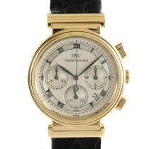 IWC Da Vinci Chronograph Oro amarillo 32.5mm Plata